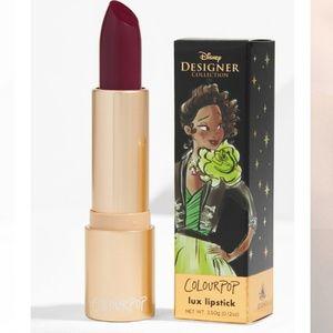 💝BNIB💝 Colourpop Disney Tiana Creme Lux lipstick
